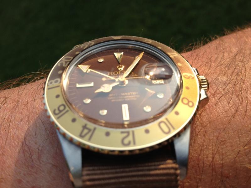 """Vends Rolex GMT 1675/3 """"chocolate"""" de 1970 Img_5311"""