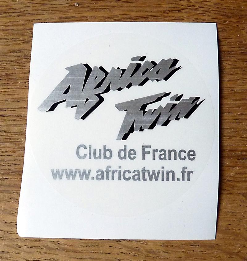 Auto-collant du club N/B transparent P1010713