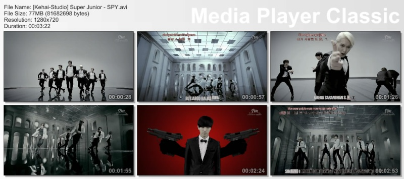 [K-music] Super Junior - SPY Thumbs15