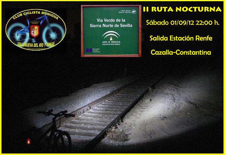 II RUTA LIBRE NOCTURNA VIA VERDE SIERRA NORTE 01-09-12 Ii_rut12