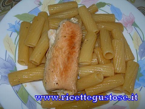 Rigatoni e involtini - Ricetta fotografata su www.ricettegustose.it Tortig10