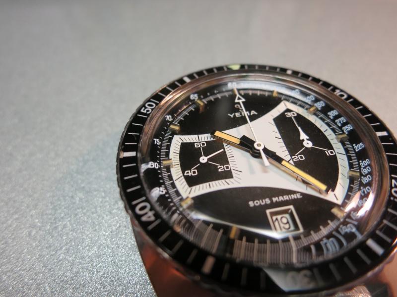 [REVUE] YEMA Chrono Sous Marine - boitier Jumbo 2010