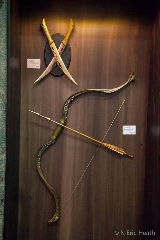 THE HOBBIT - THE DESOLATION OF SMAUG :  BOW AND ARROW OF TAURIEL Auriel10