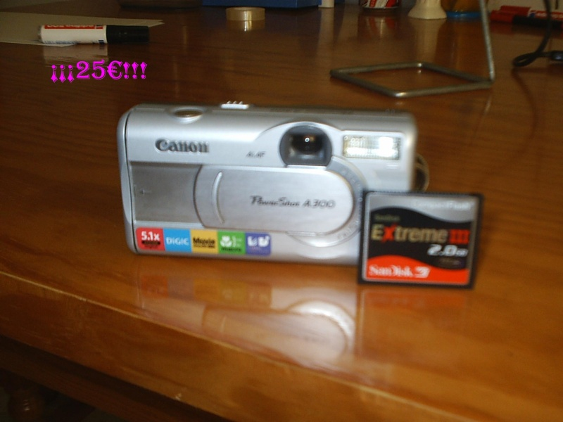 Cámara de fotos digital CANON Power Shot A300 Pic_0016