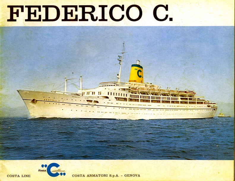 'Federico C.' - Costa - 1958 Nave_f19