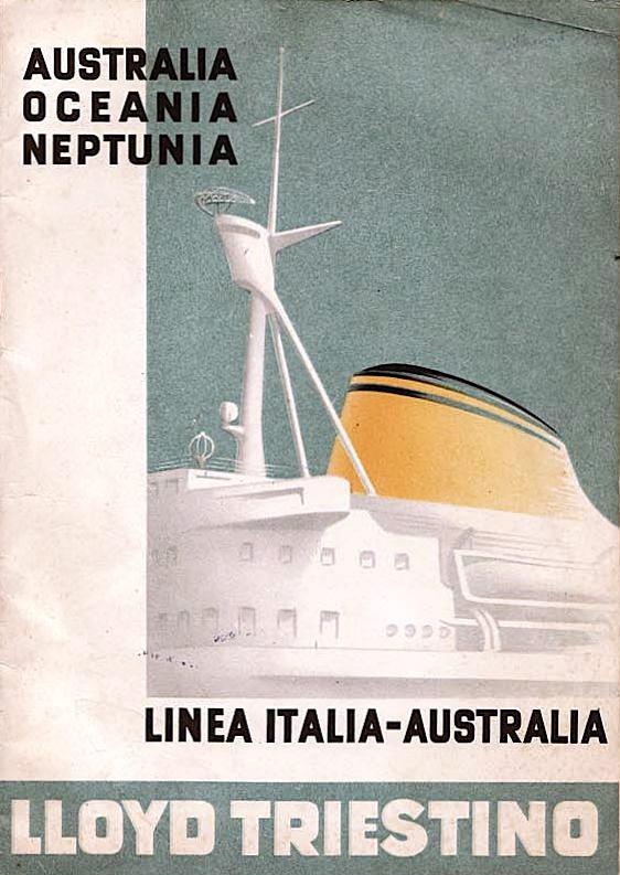 'Oceania' - Lloyd Triestino - 1951 Nave_o14