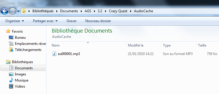 [Tuto] AGS 3.2, l'onglet Audio 410
