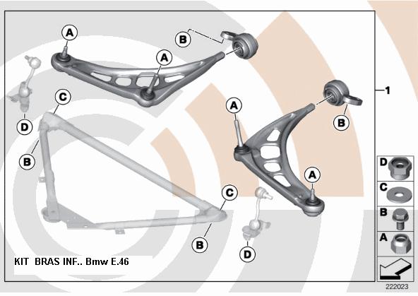 [ bmw e46 330d boite auto an 2000 ] claquement train avant  - Page 3 31_kit10