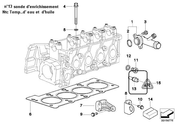 bmw e46 316i m43 1 9l an 2000   ventilation du carter moteur