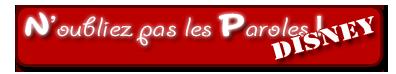 N'oubliez pas les Paroles (Disney) ! [ 3ème Épreuve ] Logo_110