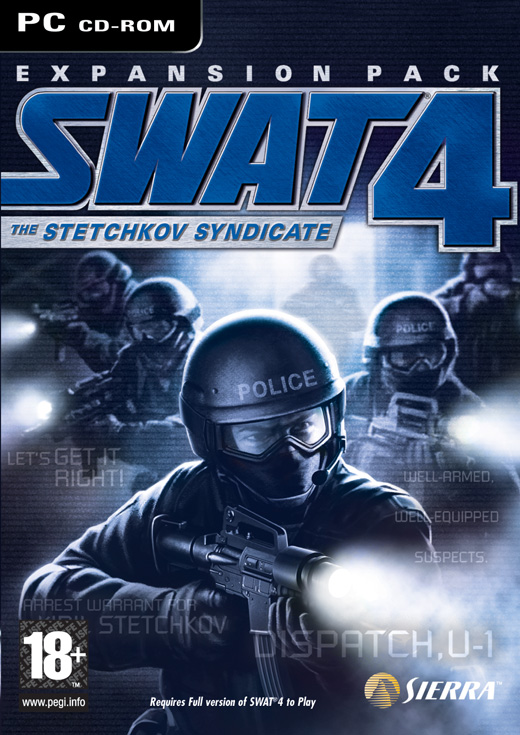 Swat 4 The Stetchkov Syndicate (Expansion Pack!) [Full ISO 1 CD][English] 00287410