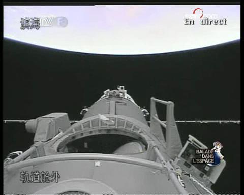 [Shenzhou 7] Sortie dans l'espace - Page 2 Vlcsna10