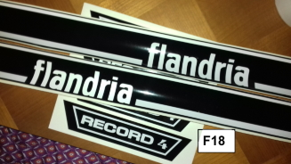 NEW ADHESIF / STICKERS / AUTOCOLLANT FLANDRIA MALAGUTI ROCVALE ETC.. Record10