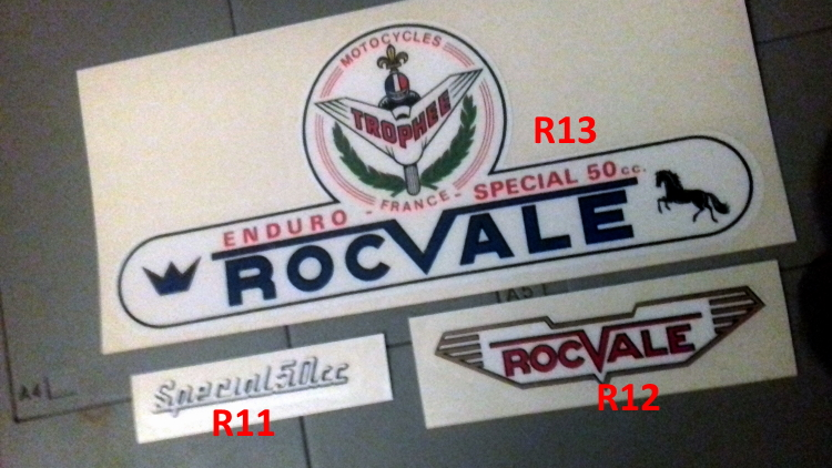 NEW ADHESIF / STICKERS / AUTOCOLLANT FLANDRIA MALAGUTI ROCVALE ETC.. Roc_co10