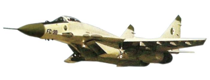 الطائرة المقاتلة الاعتراضية ميغ-29 فالكرم MIG-29 Fulcrum Mig-2910