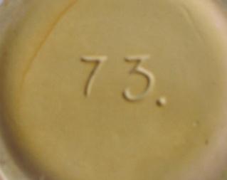 Crown Lynn 73 vase 73_bac10