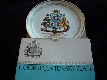 Cook Bicentenary Plate 1769 -1969 is Bicentenary Plate pattern 548  Cook_b14