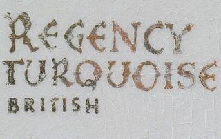 Regency Turquoise British Regenc12