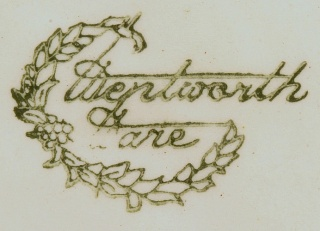 Wentworth Ware backstamp. Wentwo10