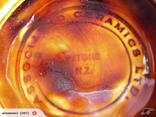Wharetana-like photo plaques made by Associated Ceramics Ltd Petone .. Wharet16