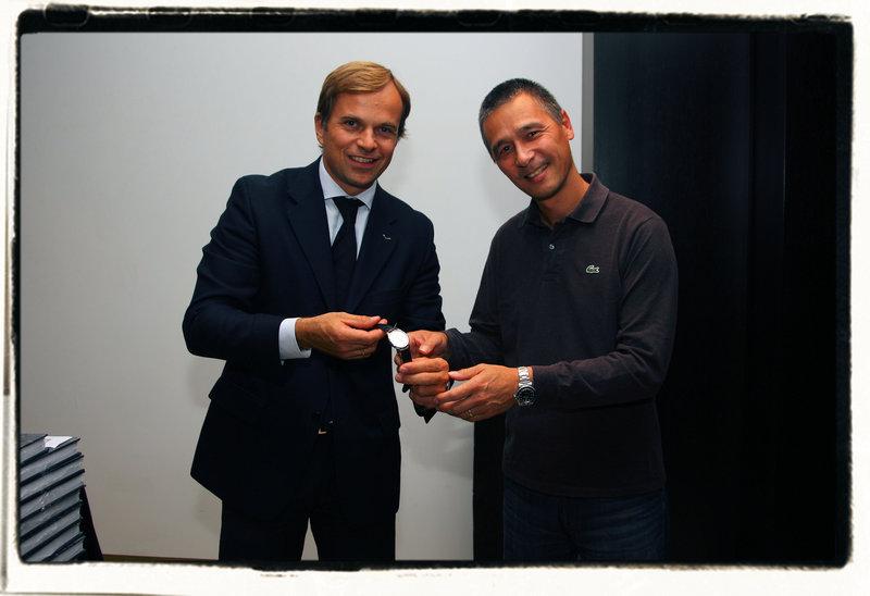 Communiqué :  Jean-Frédéric Dufour nommé « Homme de l'année 2011 » 281010