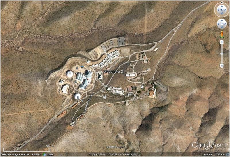 Site expérimental Biosphère 2, Oracle, Arizona - Etats-Unis Biosph10