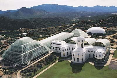 Site expérimental Biosphère 2, Oracle, Arizona - Etats-Unis Biosph11