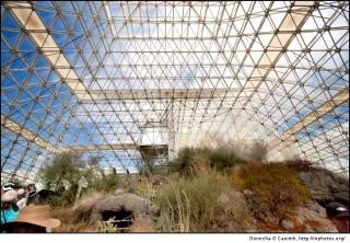 Site expérimental Biosphère 2, Oracle, Arizona - Etats-Unis Biosph12