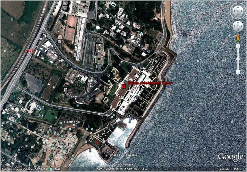 Le palais présidentiel de Carthage Palais10
