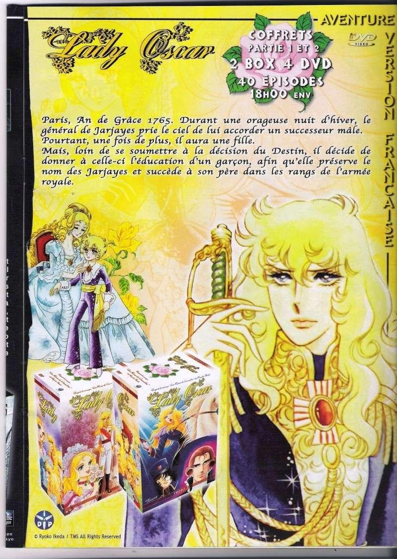 lady oscar dans manga distribution Pub10
