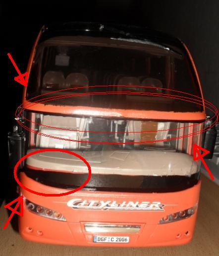 Neoplan Cityliner, Baubericht, Revell Hrauqe10