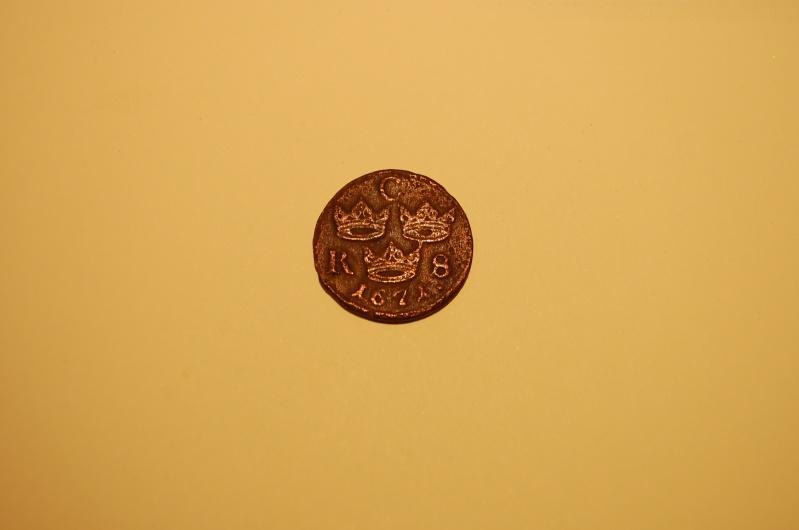 Suecia,1/6 de ore, 1671. Mmm_0512