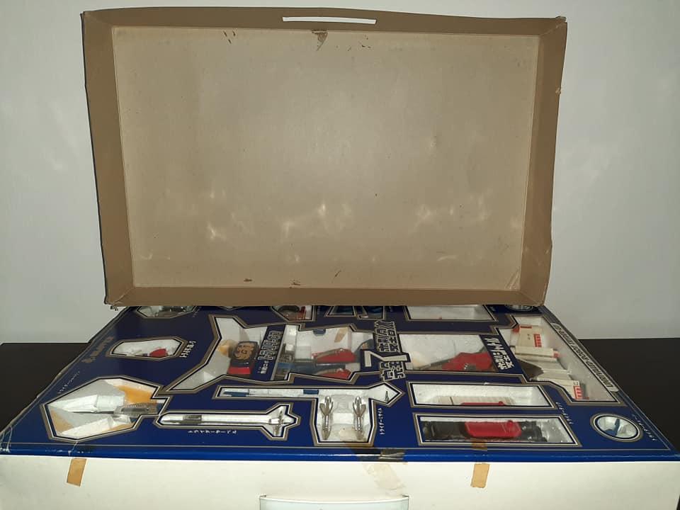 TRIDER G7 7 TRASFORMAZAIONI CEPPI RATTI ANNO 1981 VINTAGE ROBOT JAPAN 13177111