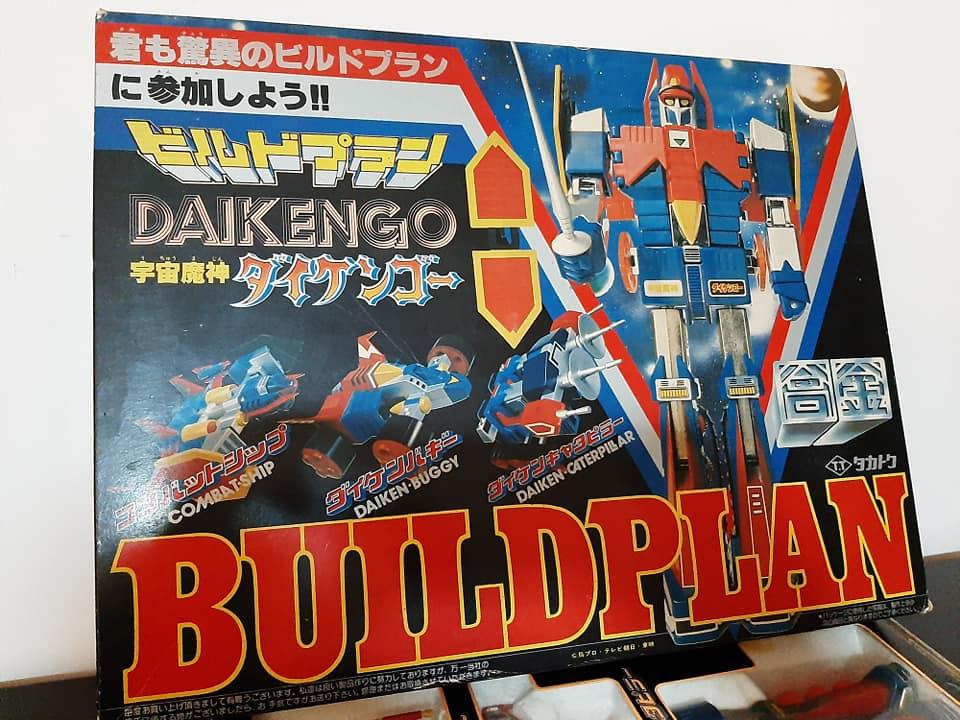 ROBOT DAIKENGO BUILDPLAN DELUXE MADE IN JAPAN VINTAGE TOYS ANNI 70 13189610
