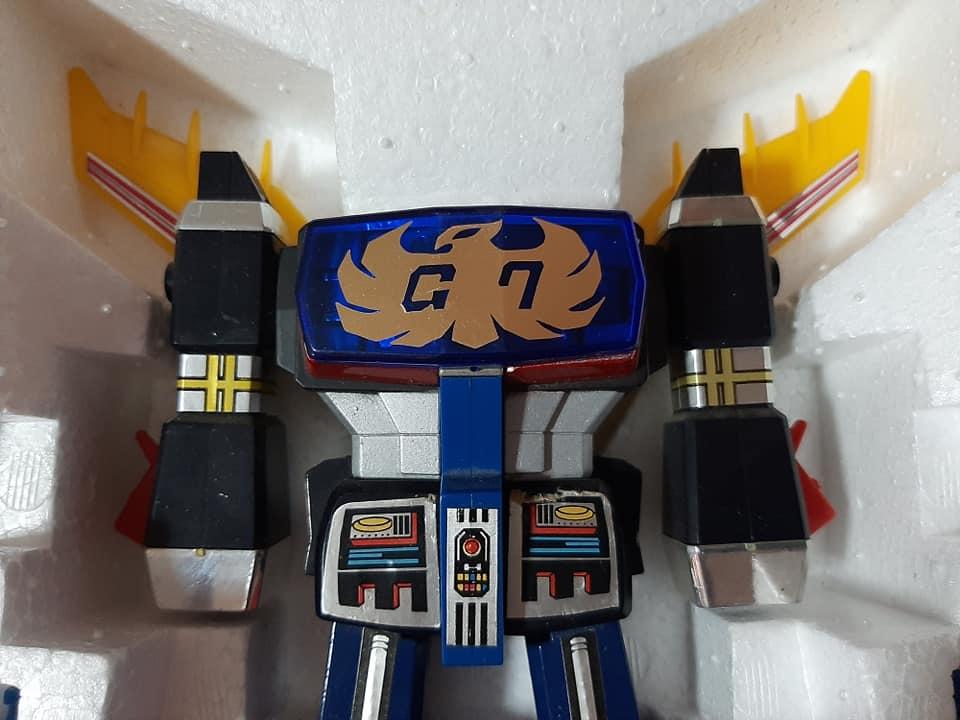 TRIDER G7 7 TRASFORMAZAIONI CEPPI RATTI ANNO 1981 VINTAGE ROBOT JAPAN 13190210