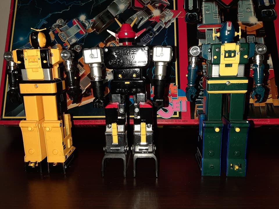 ROBOT GODSIGMA DX GOD SIGMA DELUXE CEPPIRATTI 1982 VINTAGE TOYS 13197610