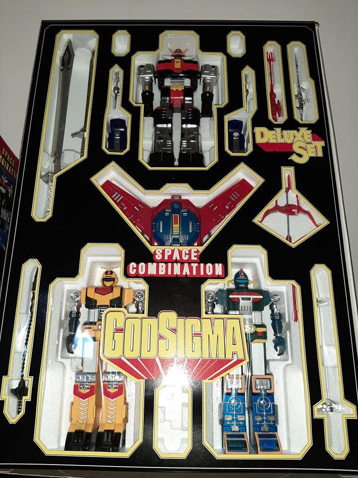 ROBOT GODSIGMA DX GOD SIGMA DELUXE CEPPIRATTI 1982 VINTAGE TOYS 13204610
