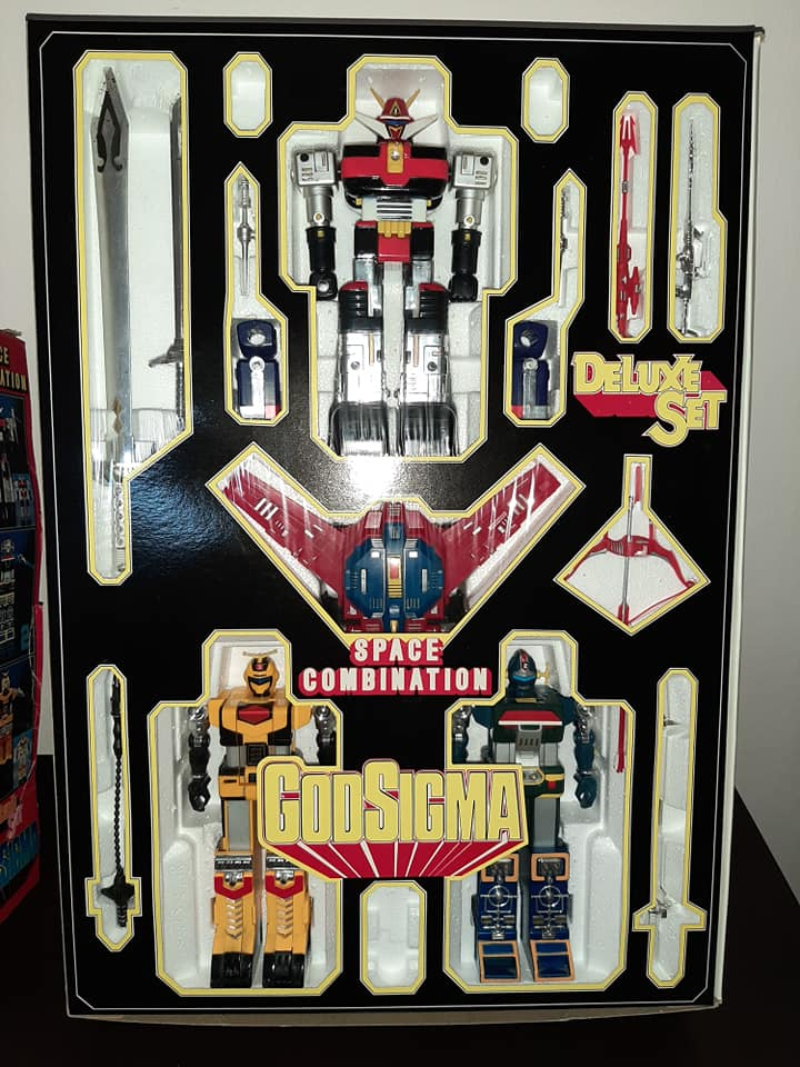 ROBOT GODSIGMA DX GOD SIGMA DELUXE CEPPIRATTI 1982 VINTAGE TOYS 13226910