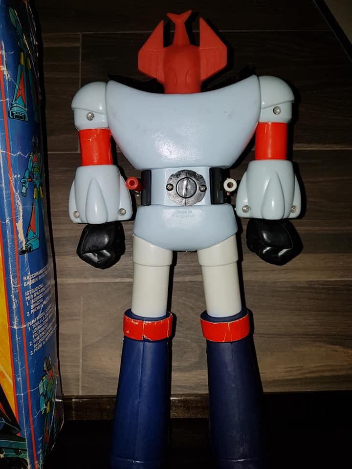 Vintage Robot Danguard Mini Jumbo Shogun New Gioco Roma anni 70 ultrarare toys 33164913