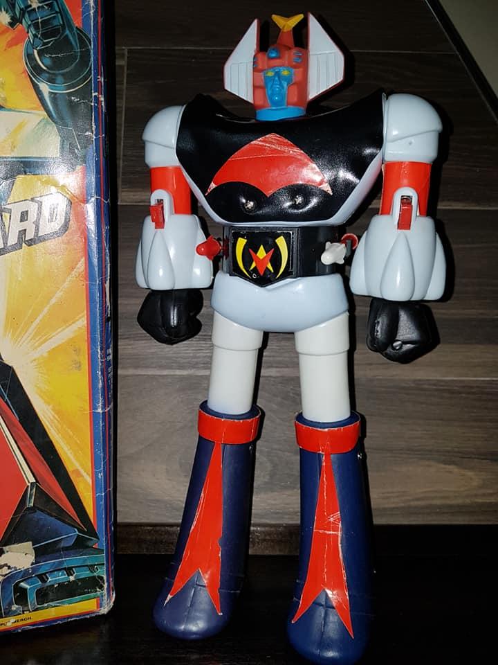 robot - Vintage Robot Danguard Mini Jumbo Shogun New Gioco Roma anni 70 ultrarare toys 33186813