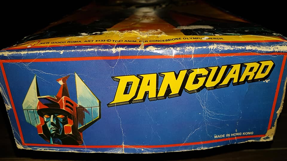 Vintage Robot Danguard Mini Jumbo Shogun New Gioco Roma anni 70 ultrarare toys 33197410