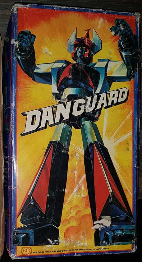 Vintage Robot Danguard Mini Jumbo Shogun New Gioco Roma anni 70 ultrarare toys 33302210