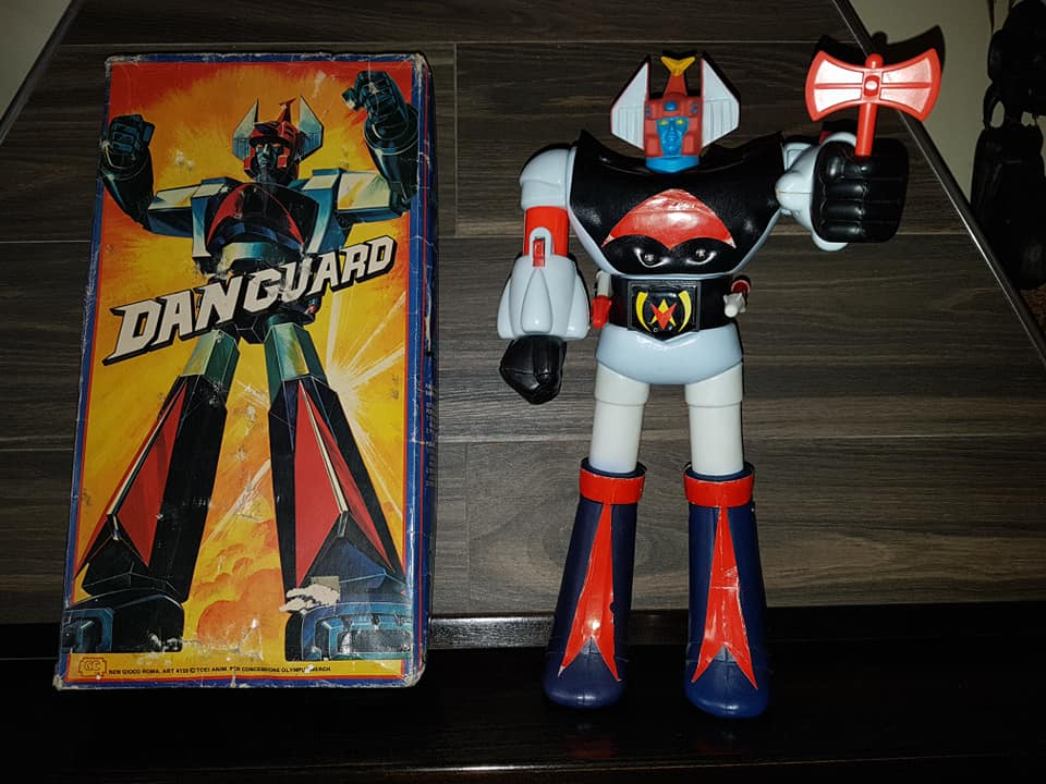Vintage Robot Danguard Mini Jumbo Shogun New Gioco Roma anni 70 ultrarare toys 33523511