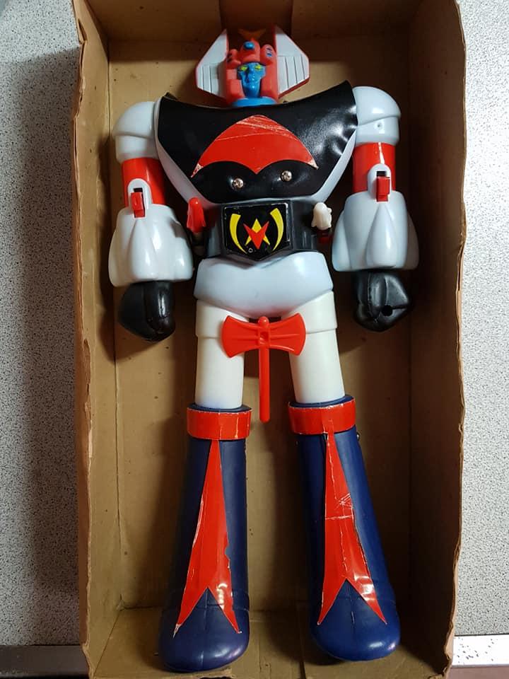 robot - Vintage Robot Danguard Mini Jumbo Shogun New Gioco Roma anni 70 ultrarare toys 33575110