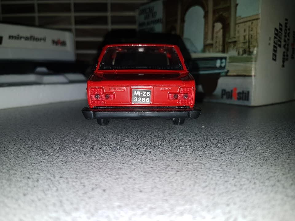FIAT 131 MIRAFIORI SPECIAL POLISTIL SC 1:24 NO POLITOYS MABETOYS BURAGO 1975 67330110