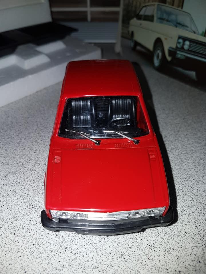 FIAT 131 MIRAFIORI SPECIAL POLISTIL SC 1:24 NO POLITOYS MABETOYS BURAGO 1975 67439910