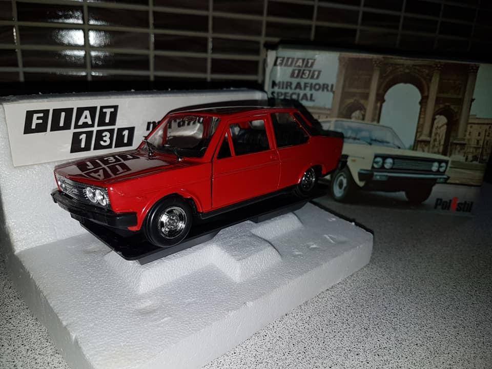 FIAT 131 MIRAFIORI SPECIAL POLISTIL SC 1:24 NO POLITOYS MABETOYS BURAGO 1975 67479110