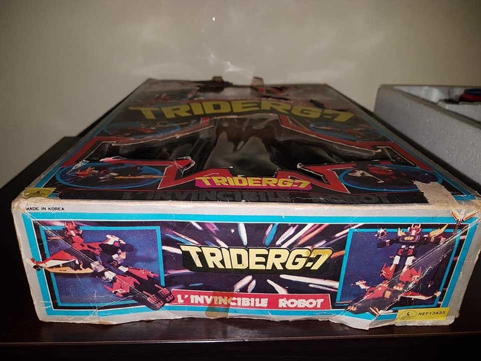 Robot Trider G7 Ceppiratti anni 80 4 trasformazioni no Goldrake 80459410
