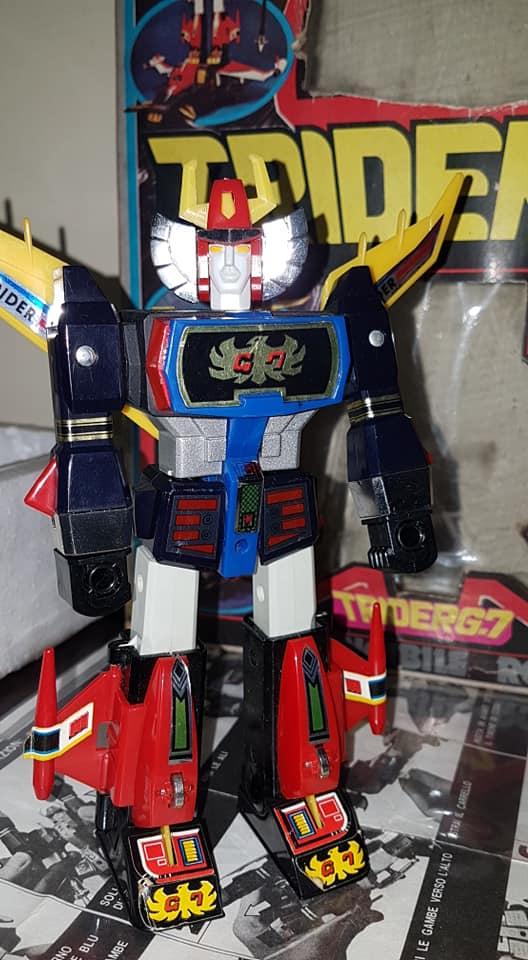 Robot Trider G7 Ceppiratti anni 80 4 trasformazioni no Goldrake 80613410