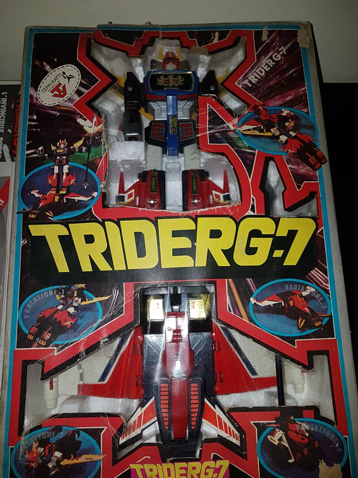 Robot Trider G7 Ceppiratti anni 80 4 trasformazioni no Goldrake 80620210